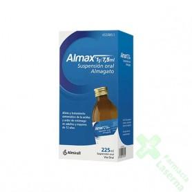 ALMAX 1G/7,5 ML SUSPENSION ORAL , 1 FRASCO DE 225 ML